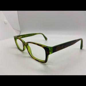 Coach Brooklyn 5117 color tortoise green